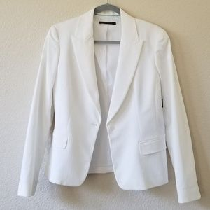 Elie Tahari white jacket blazer size 12